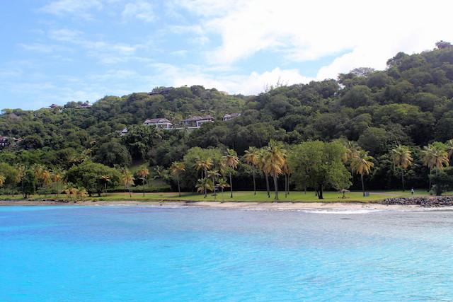 Mustique in the Grenadine islands