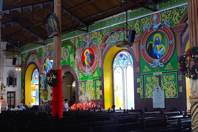 Colorful Church in Castries, St. Lucia