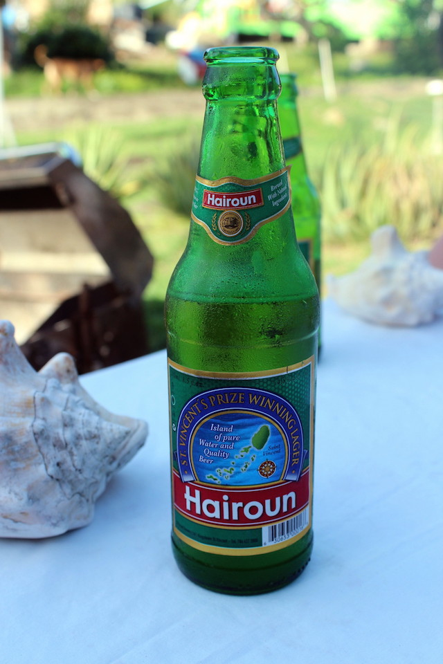 Local beer in Mayreau island, the Grenadines