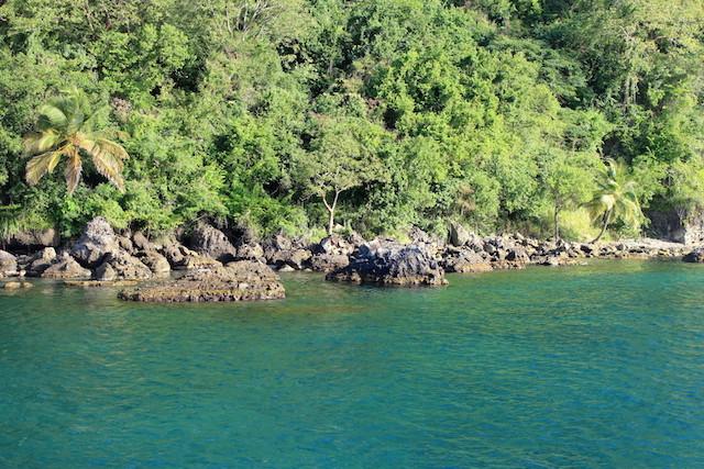 Snorkeling spot in La Soufrière, St. Lucia