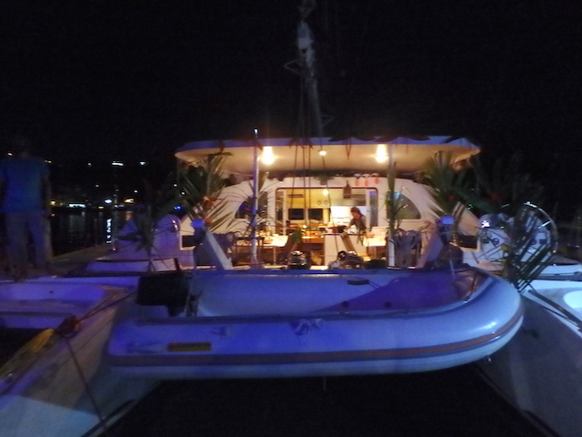 Aperitivo time in Marigot Bay, St. Lucia