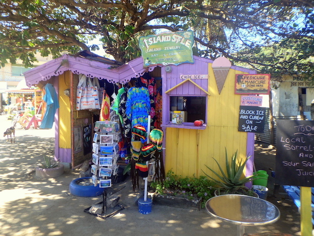 Colorful market in Union island, the Grenadines