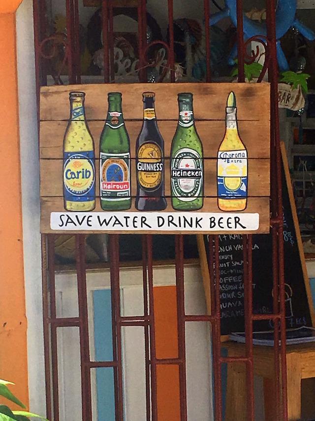 Wandering around Union island, the Grenadines