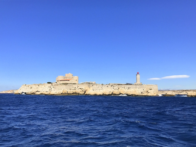 Boat day around Marseille