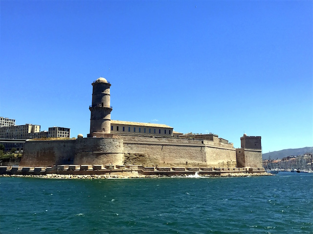 The fort in the Vieux Port, Marseille
