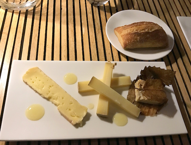 Cheese platter at Restaurant Peron in Marseille, France