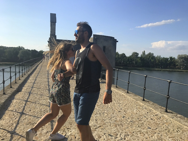 Dancing on the Pont d'Avignon