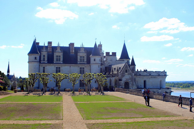 The castle of Amboise in the Loire Valley