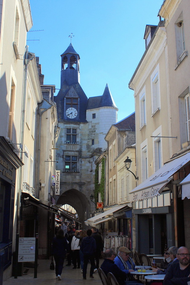 Wandering around in Amboise