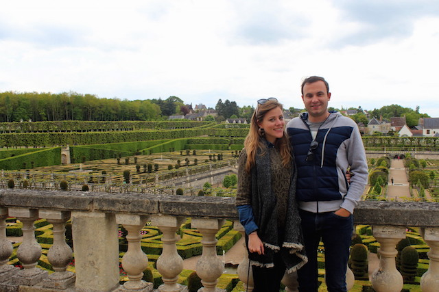 Visiting Villandry castle