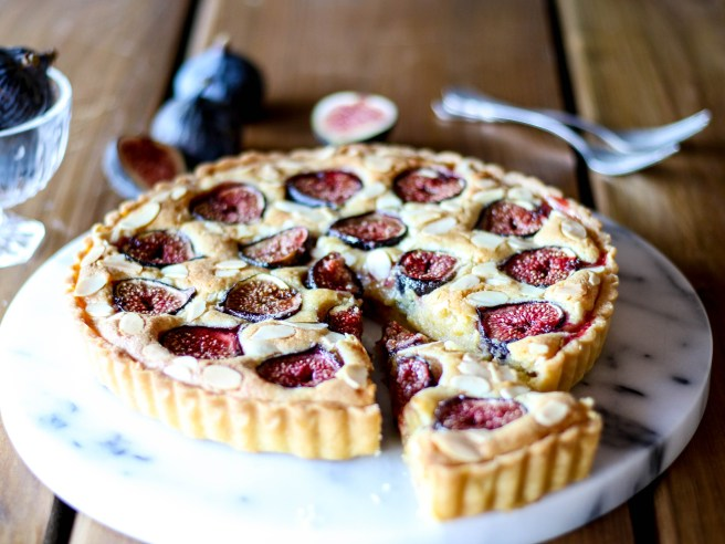 fig and frangipane tart | The Secret Life of Bee