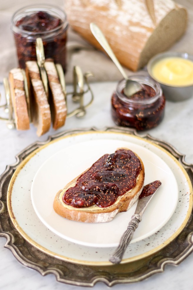 fig jam with honey & vanilla | The Secret Life of Bee