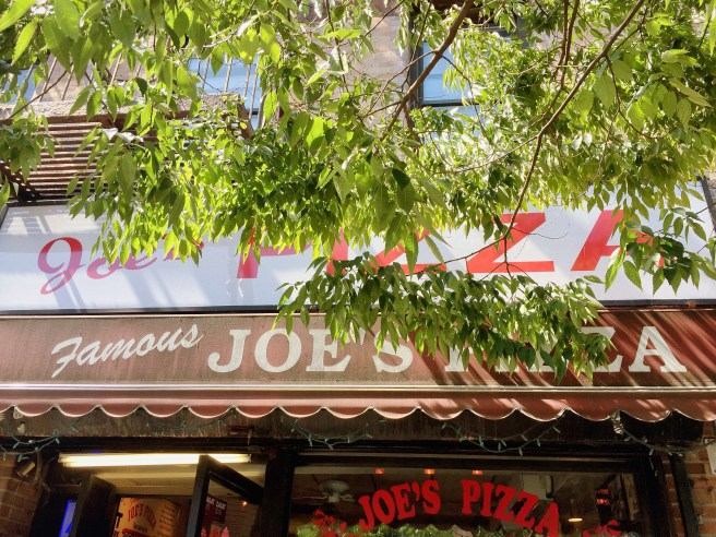 Joe's Pizza NYC | The Secret Life of Bee