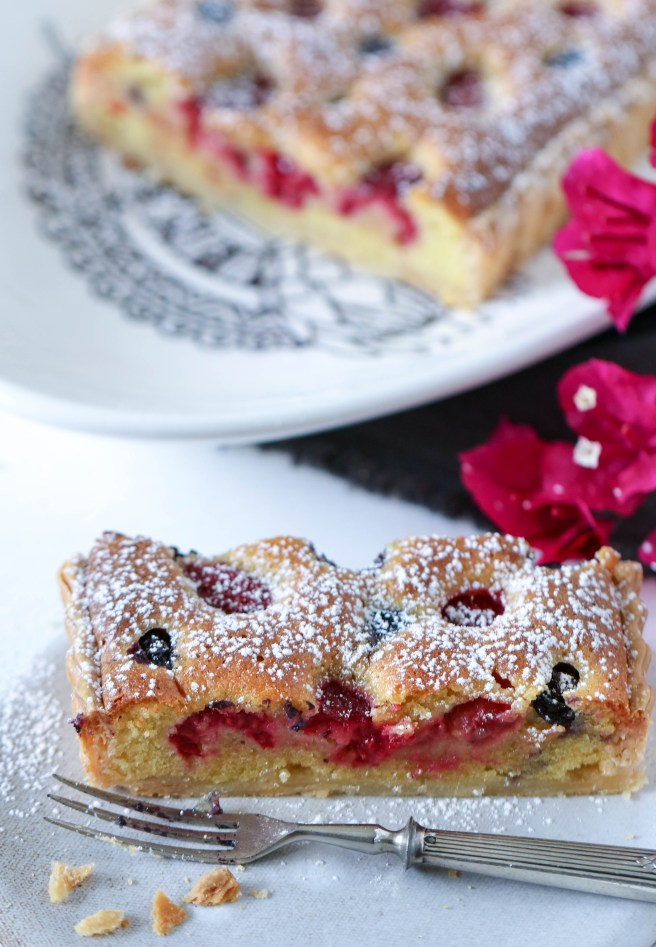 mixed berry tart | The Secret Life of Bee