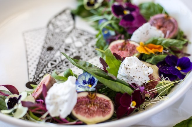 Fig & Goat's Cheese Salad | The Secret Life of Bee