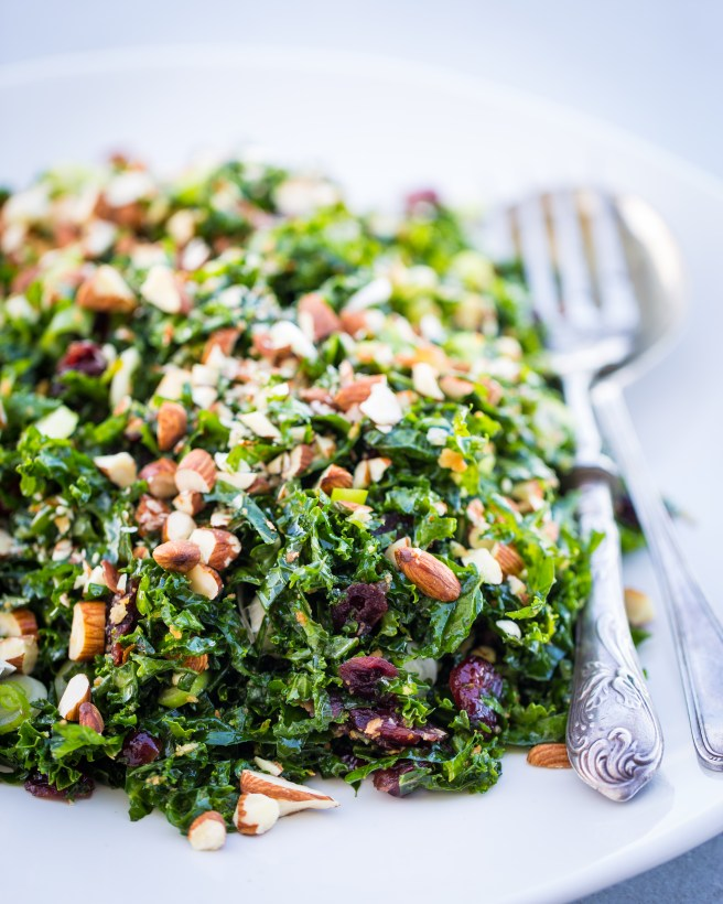 Kale & Cranberry Salad | The Secret Life of Bee