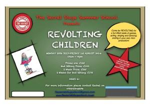 REVOLTING CHILDREN 2014