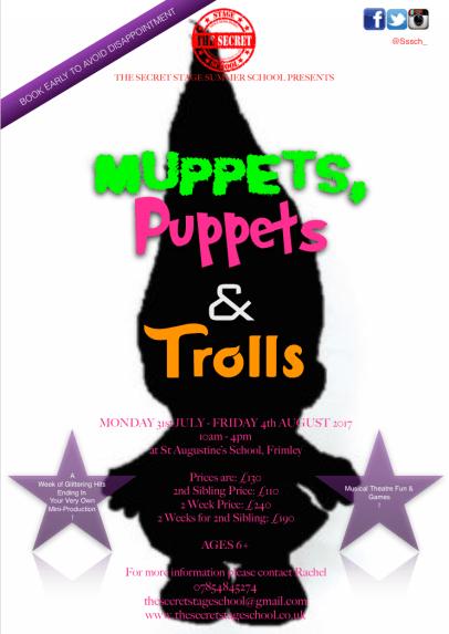 Muppets, Puppets & Trolls 2017