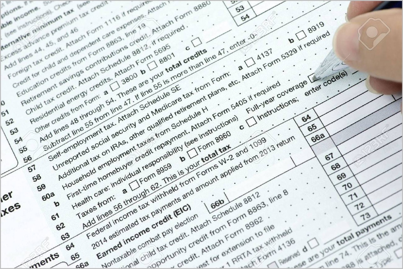 Irs Form Line 15a And 15b Form Resume Examples