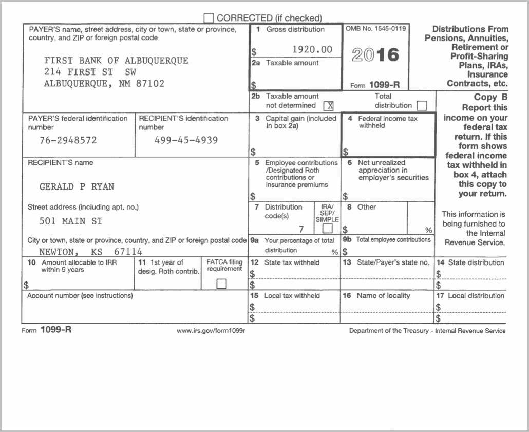 Irs Form Box 14 Code A Form Resume Examples