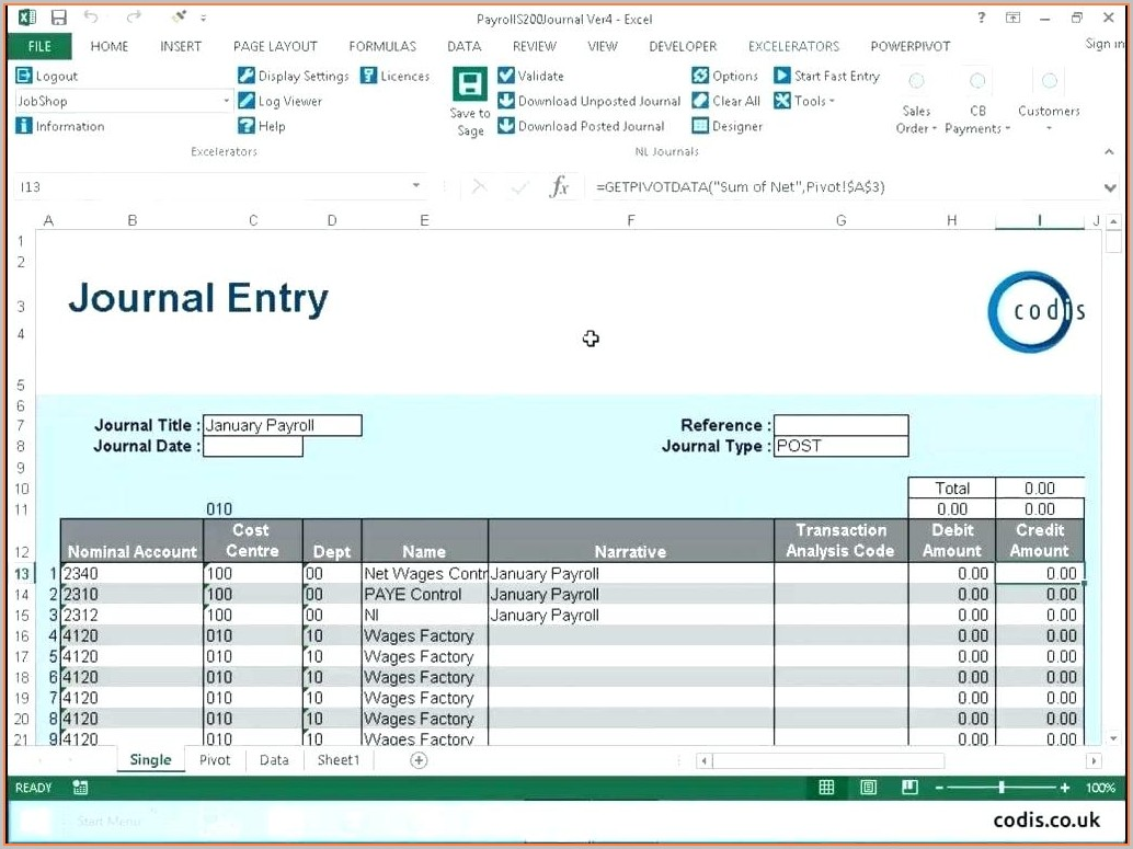 Employee Payroll Payroll Template Excel Free Download