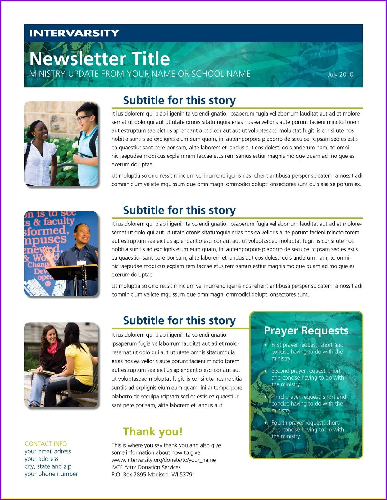 Pta Newsletter Templates Templates 2 Resume Examples