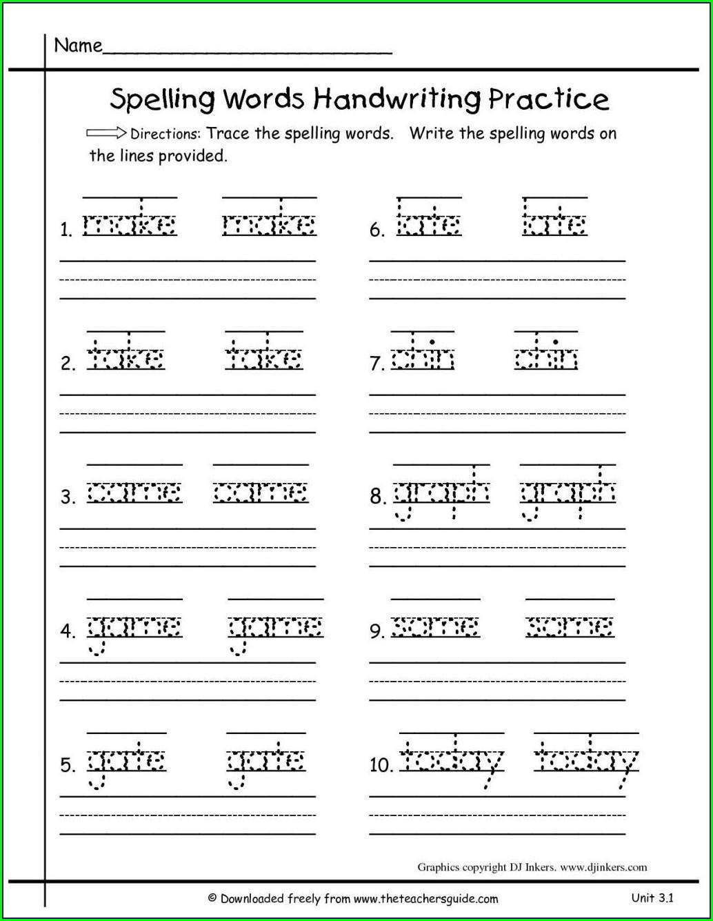 Grade 1 English First Additional Language Worksheets