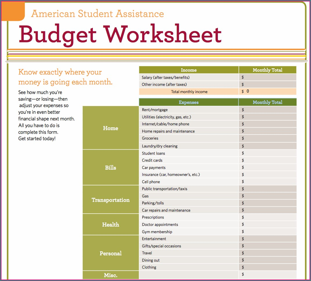 Time Management Worksheet College Students Worksheet