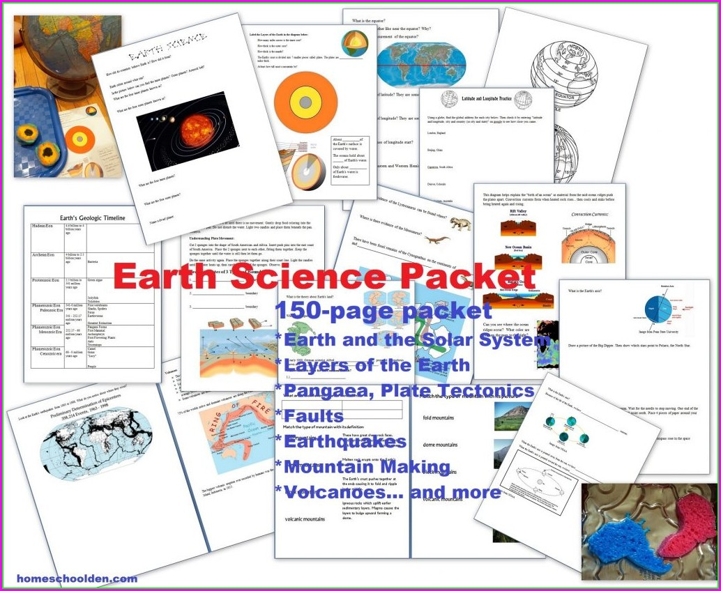 Overview Plate Tectonics Worksheet Answer Key