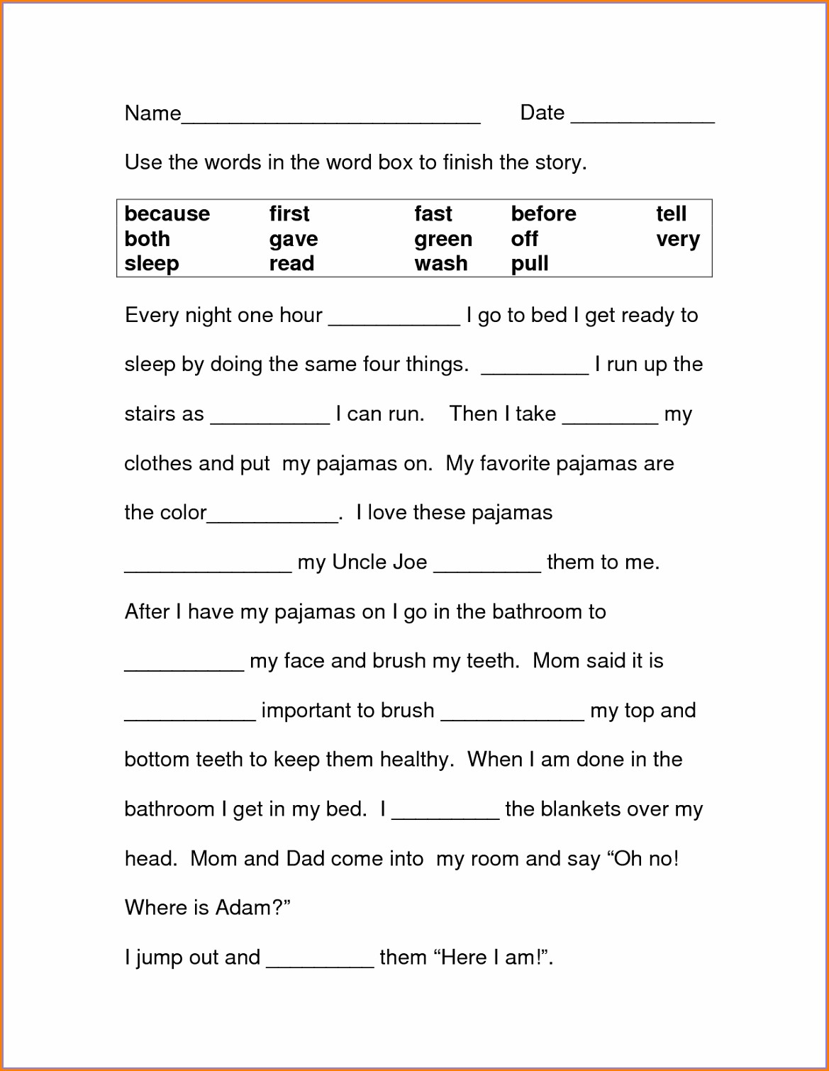 Pronoun Worksheet For Grade 2 With Answers Worksheet