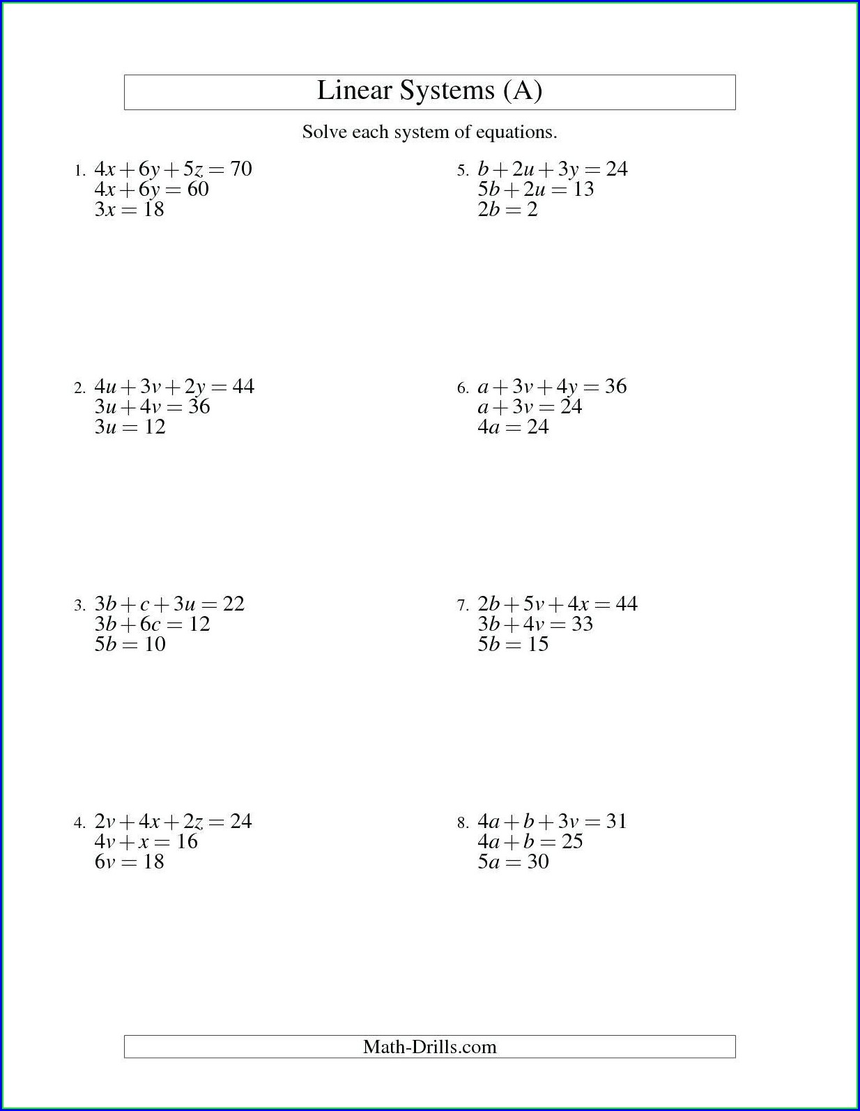 Graphing Inequalities On A Number Line Worksheet Answer