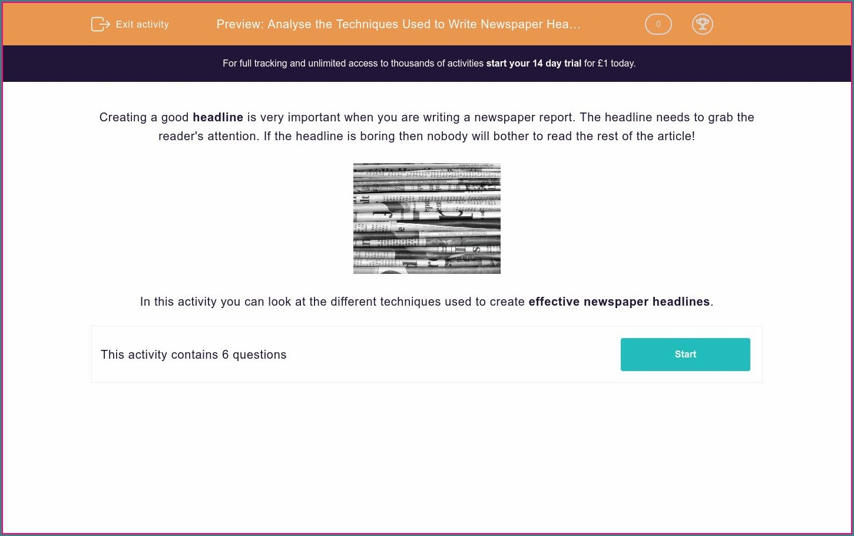 What Makes Headlines Math Worksheet Answers Worksheet