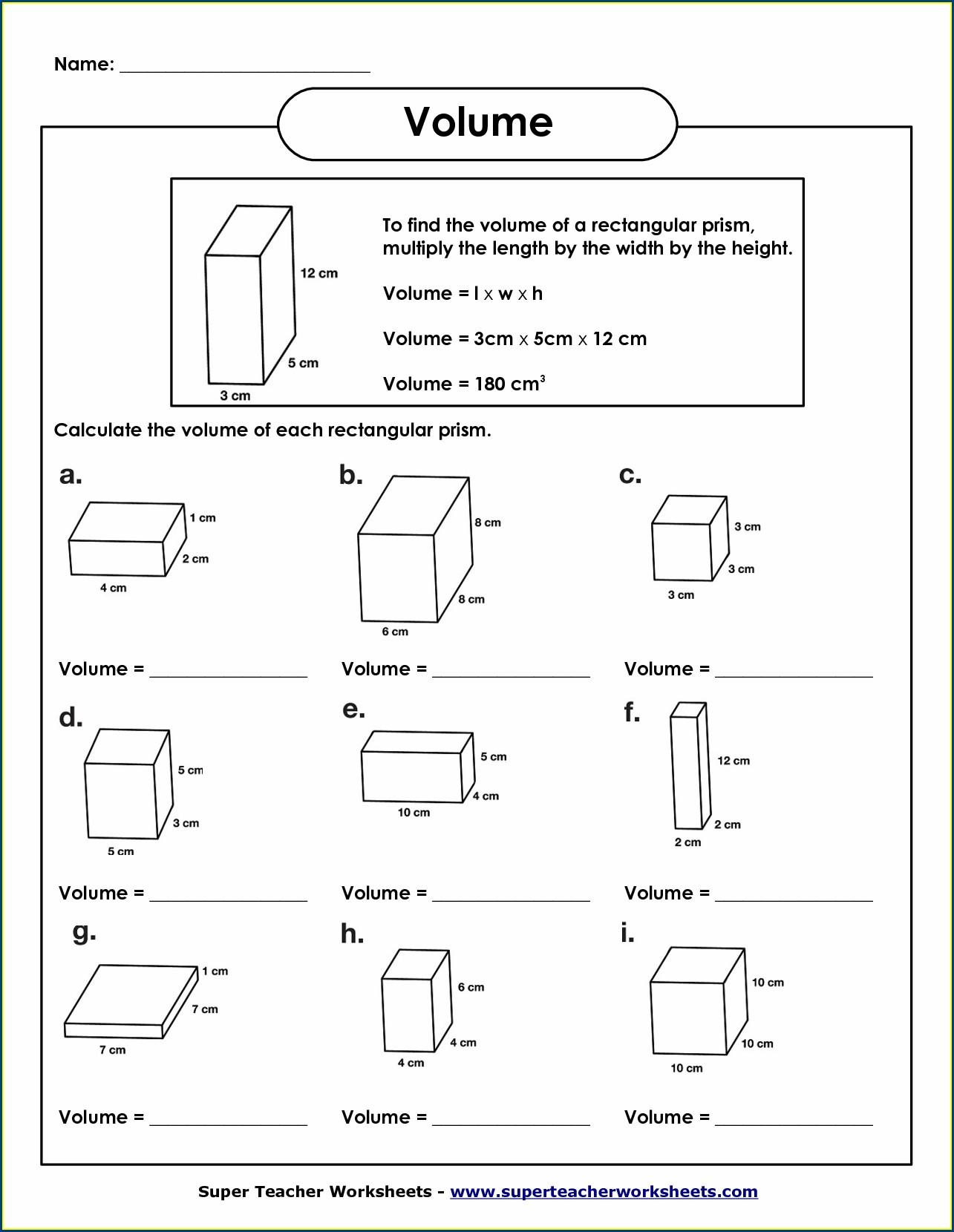 4th Grade Area Of Irregular Figures Worksheet Worksheet
