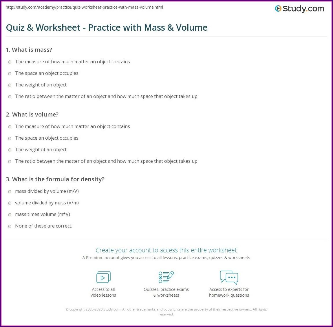 8th Grade Density Worksheet Uncategorized Resume Examples