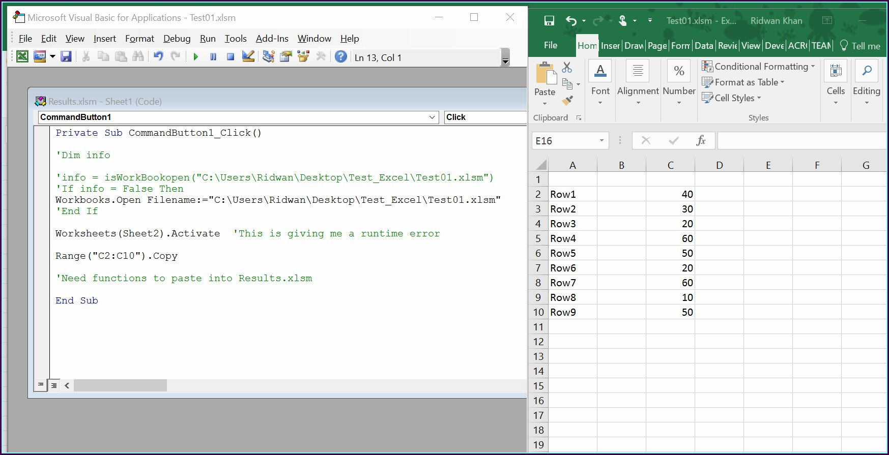 Excel Vba Call Function From Another Worksheet Worksheet