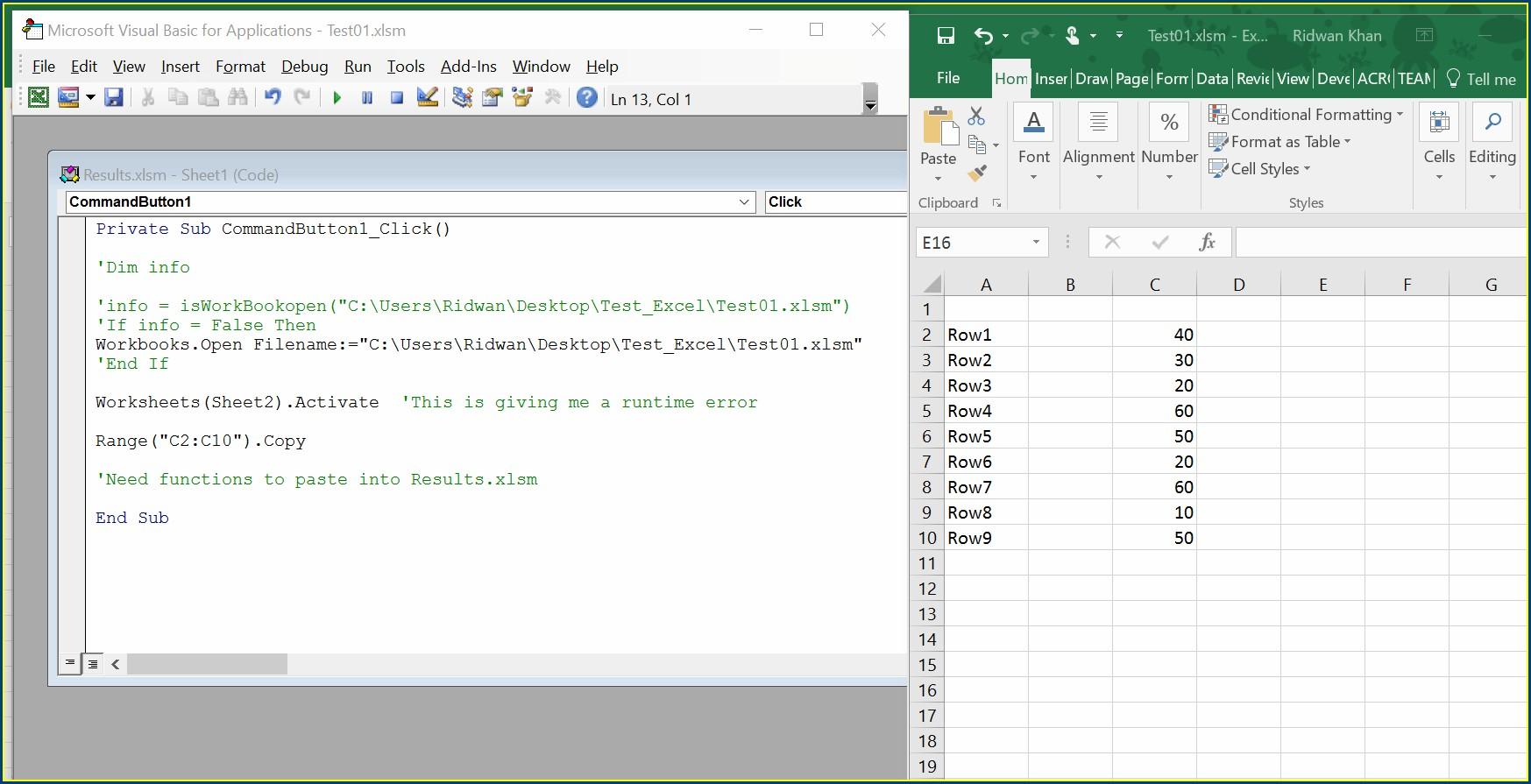 Excel Vba Copy Worksheet Into New Workbook Worksheet