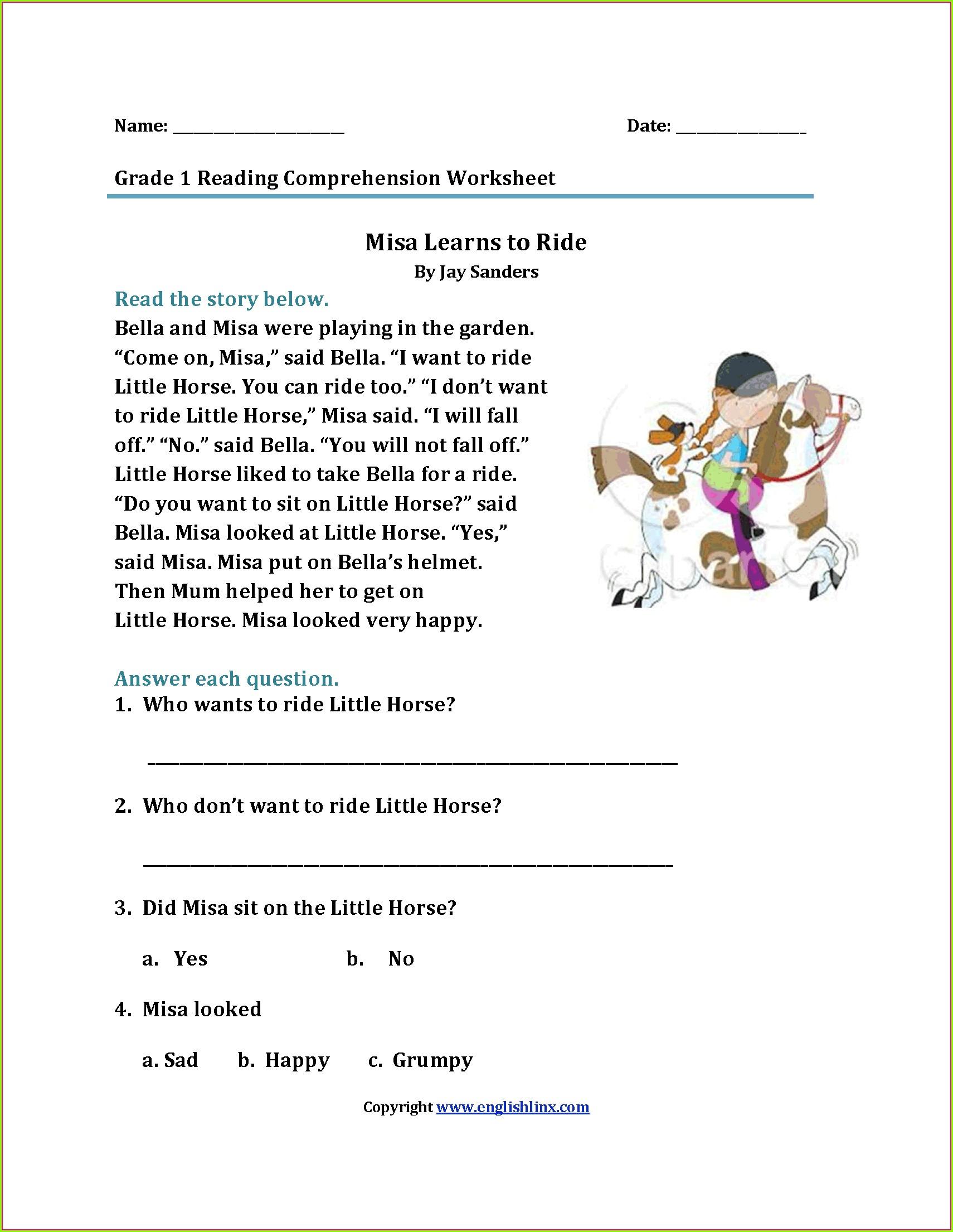 First Grade Final Consonant Blends Worksheets Worksheet