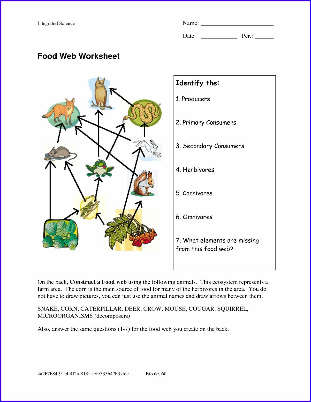 Answer Key Food Inc Worksheet Answers Worksheet Resume
