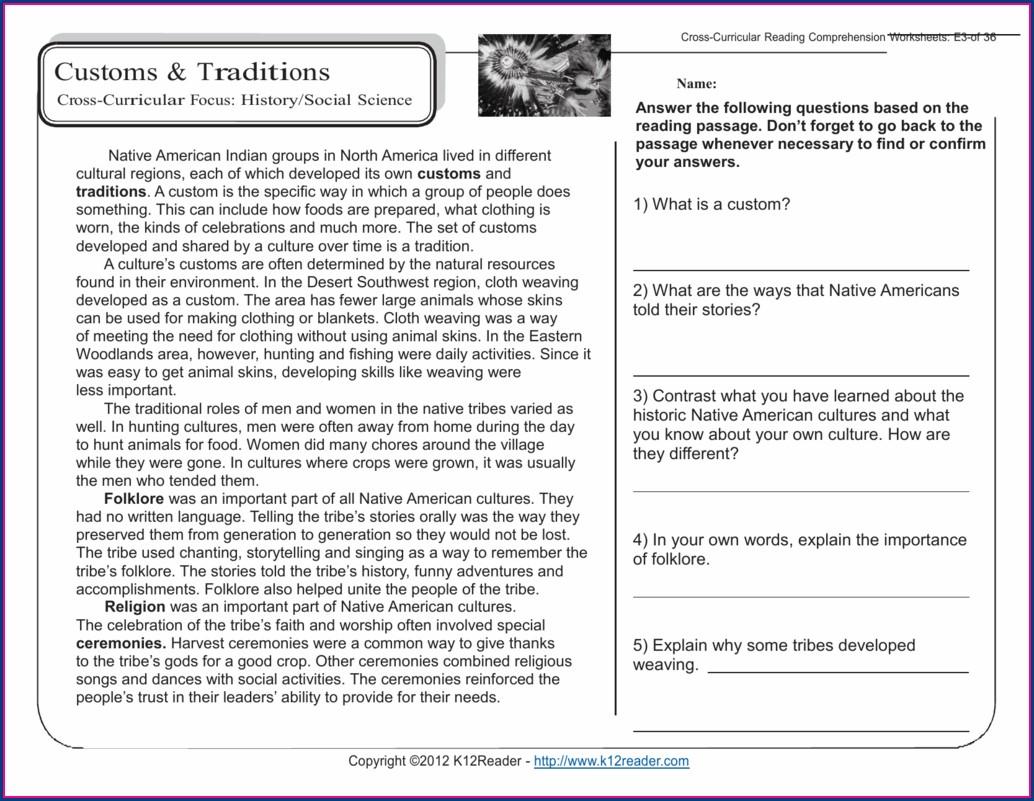 Printable Science Worksheets For Grade 5 Worksheet