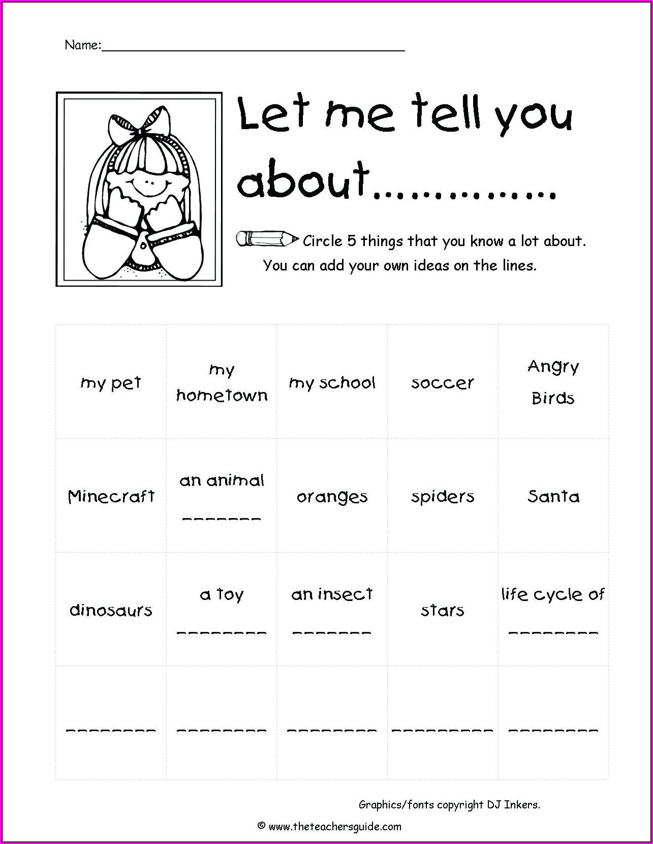 Writing Worksheet 4th Grade Worksheet Resume Examples