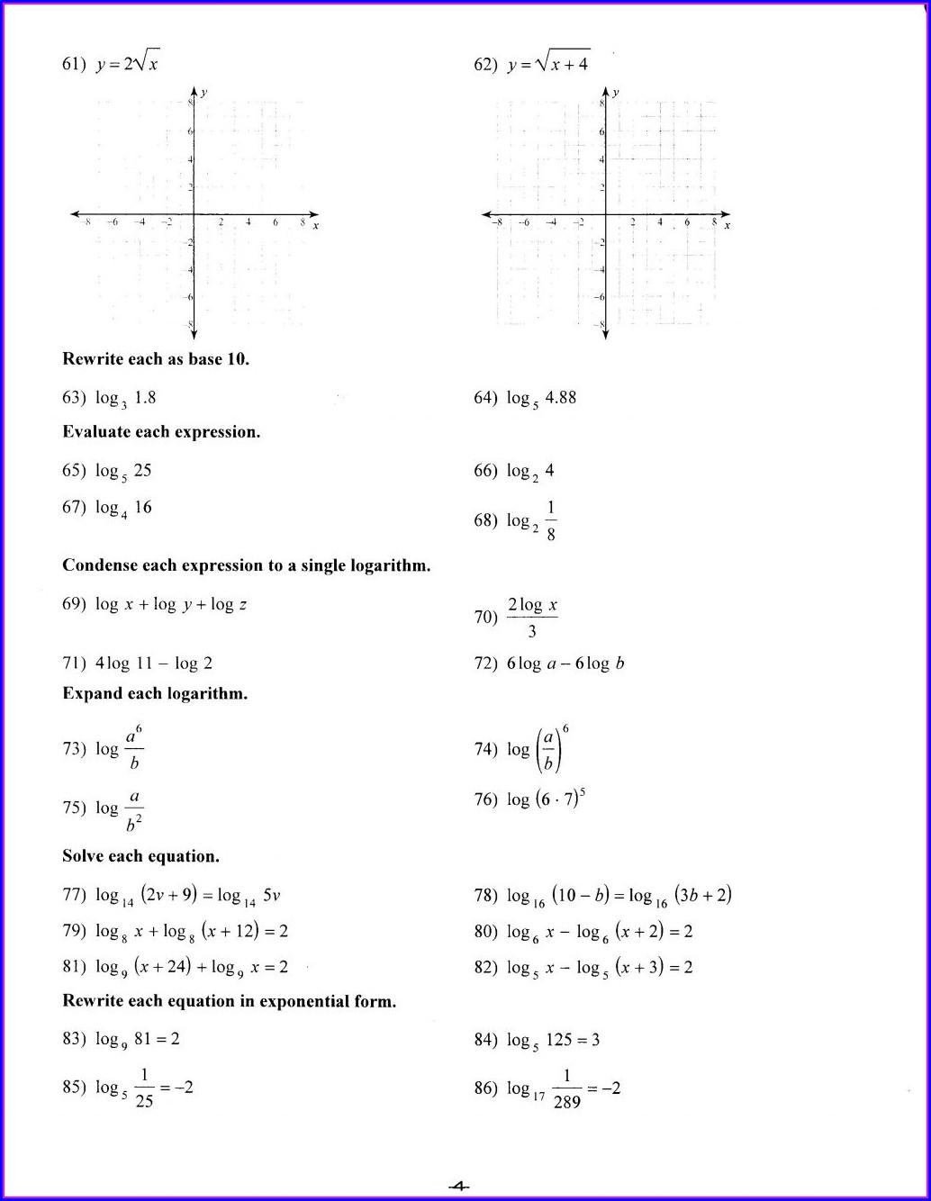 Printable Algebra Worksheets Grade 8 Worksheet Resume