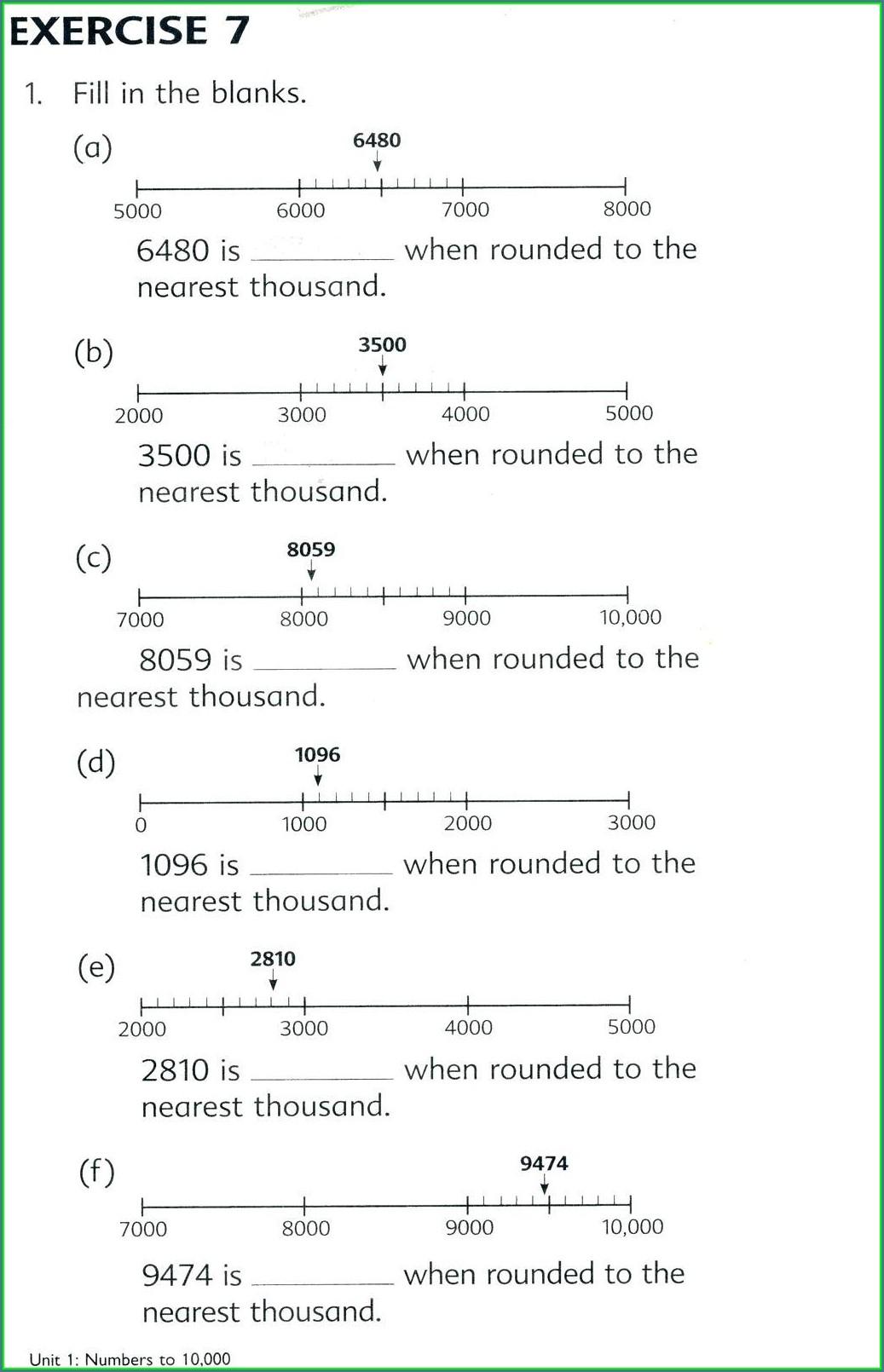 Printable Rounding Decimals Worksheet 5th Grade Worksheet