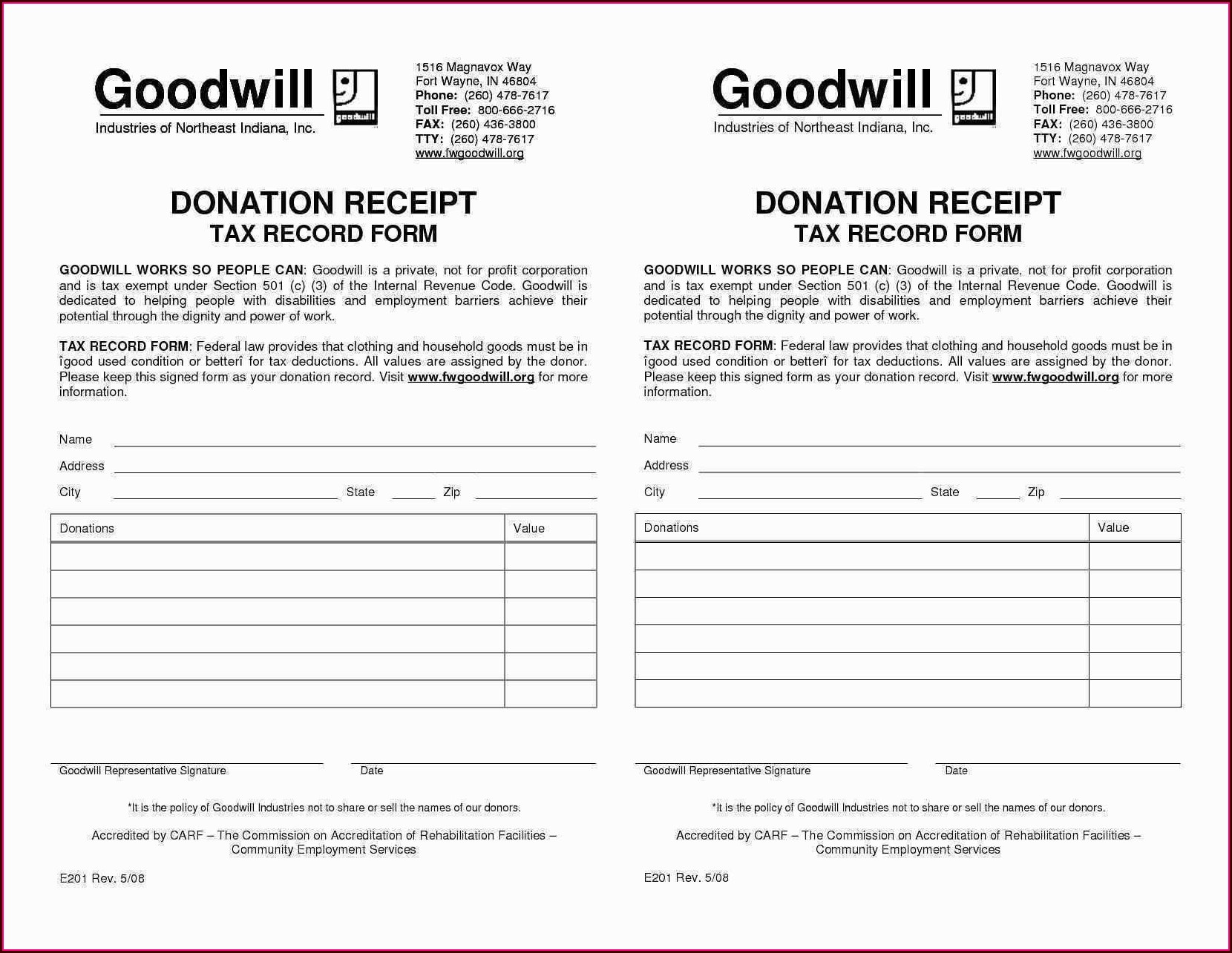 Tax Deduction Worksheet For Donated Clothing Worksheet