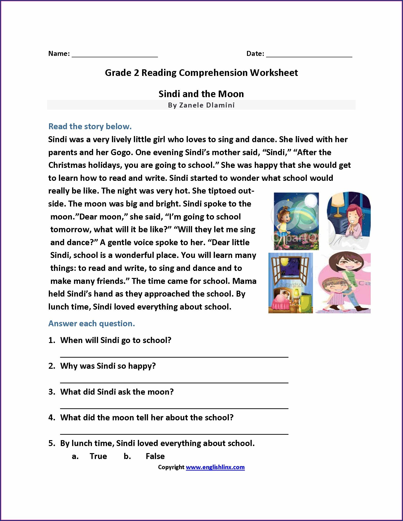 7th Grade English Reading Worksheets Worksheet Resume