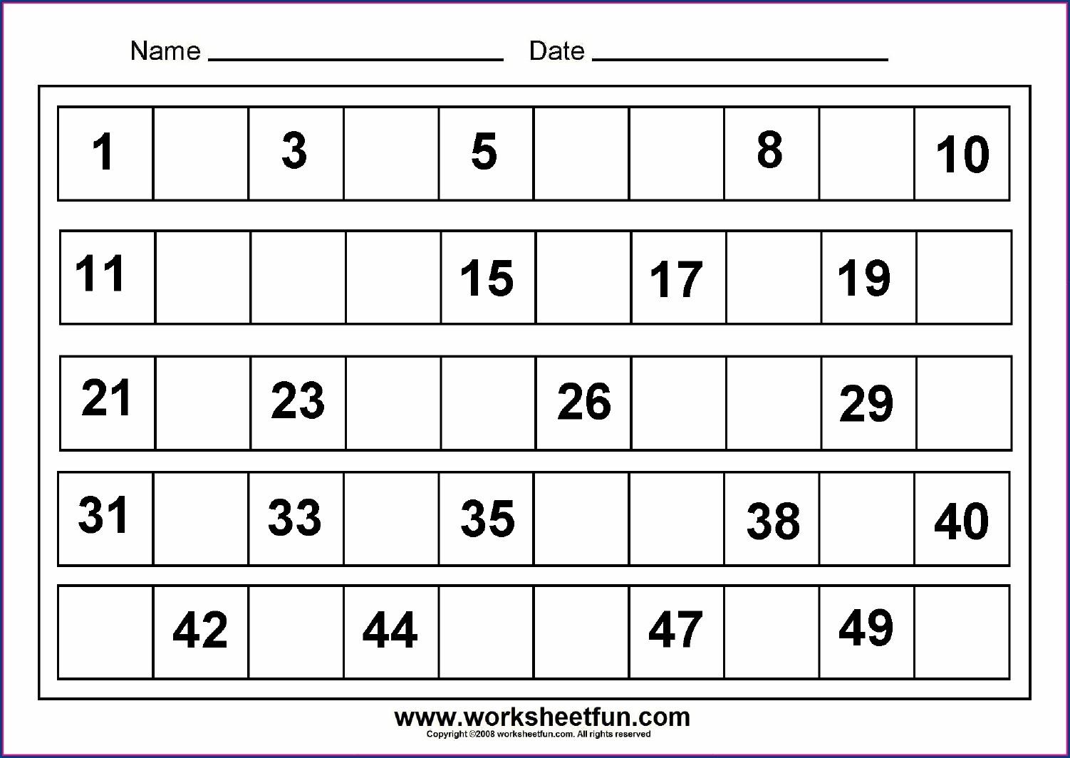 Worksheet On Numbers 1 20 Worksheet Resume Examples