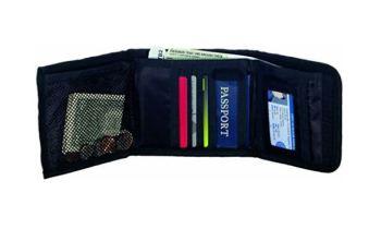 Travel Smart Security Wallet- Black
