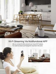HD Wifi Clock Camera