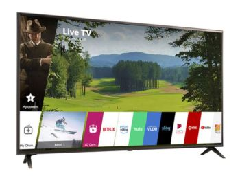 LG 65 Inch UHD AI ThinkQ TV