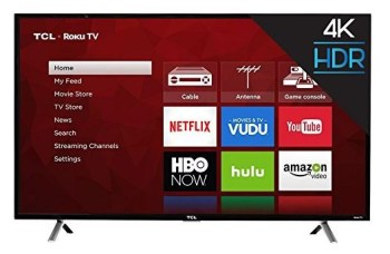 "TCL 49"" 4K Ultra HD Roku Smart TV"