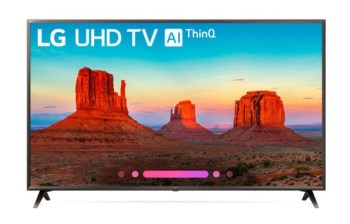 LG 49 Inch UHD AI ThinkQ TV